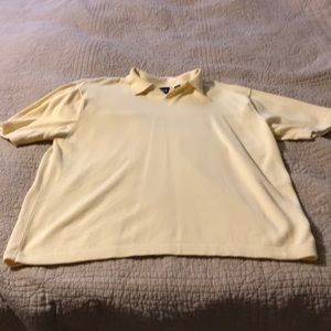 Pale yellow short sleeves